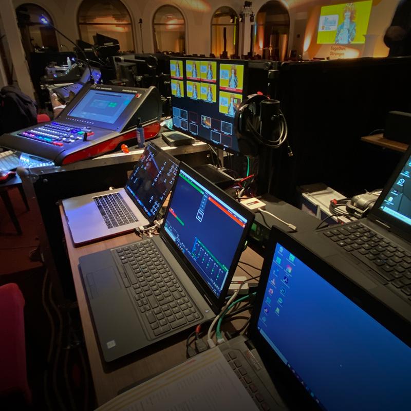 Veranstaltungstechnik_Corporate-Event_Hybrid Event